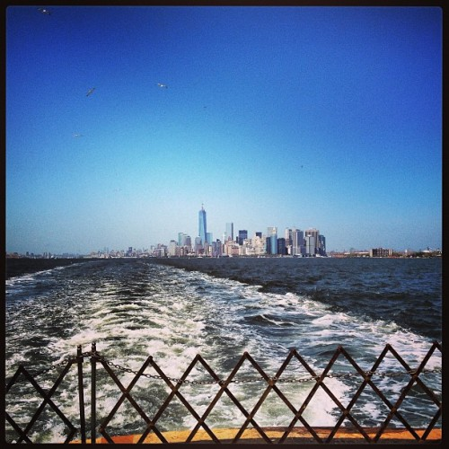 Love New York.. #Manhattan to #StatenIsland  (at Staten Island, NY)