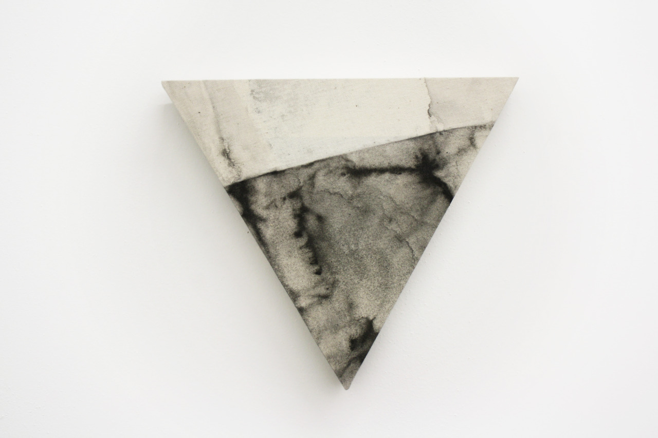 samantharobinsonstudio:  Untitled (Rand), 2013 Watercolor and acrylic on muslin http://www.samantharobinsonstudio.com/