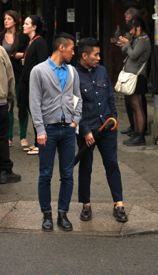 esquiringminds:  Twin Denim, Williamsburg