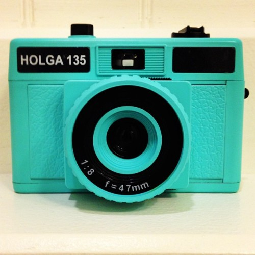 #newaddition #camera #film #holga #35mm #cute #turquoise #photography