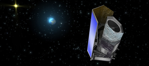 "THRILLING THURSDAY: NASA has joined the European Space Agency's (ESA's) Euclid mission, a space telescope designed to investigate the cosmological mysteries of dark matter and dark energy. Euclid will launch in 2020 and will be out in space mapping the locations and measuring the shapes of as many as 2 billion galaxies within one-third of the sky. It will study the evolution of our universe, and the dark matter and dark energy that influenced its evolution. ""NASA is very proud to contribute to ESA's mission to understand one of the greatest science mysteries of our time,"" said John Grunsfeld, associate administrator for NASA's Science Mission Directorate at the agency's Headquarters in Washington. For more information about Euclid, visit: http://www.nasa.gov/euclid, http://sci.esa.int/science-e/www/area/index.cfm?fareaid=102 and http://www.euclid-ec.org/ .  Image found at http://www.nasa.gov/mission_pages/euclid/news/euclid20130124.html"