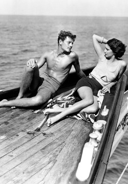 rumforall:  Joel McCrea and Kay Francis in Girls About Town, 1931