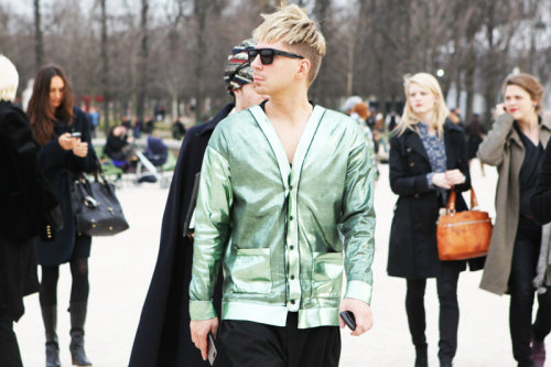 Kyle Anderson @KyleEditor at Paris Fashion Week