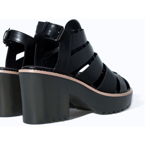 high heel jelly shoes