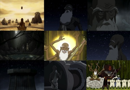 "avatar:the last airbender alphabet ↳G is for The Guru""chakras, chakras, everybody loves chakras."""