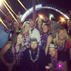 #gasparilla #tampa (at Gasparilla Knight Parade 2013)