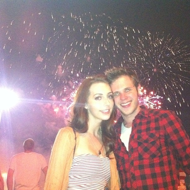 Throwback. #4thofjuly #myboo