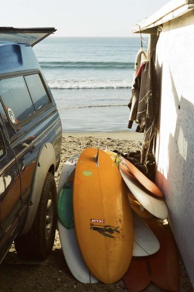 outofreception:  Our Baja Quiver.