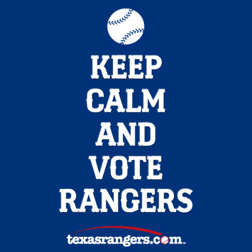 Remember, keep calm and vote Rangers