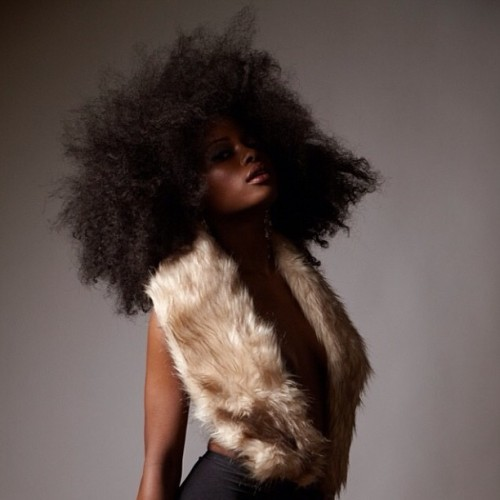 High Fashion Sexy. @CurlKit  #model #naturalcurls