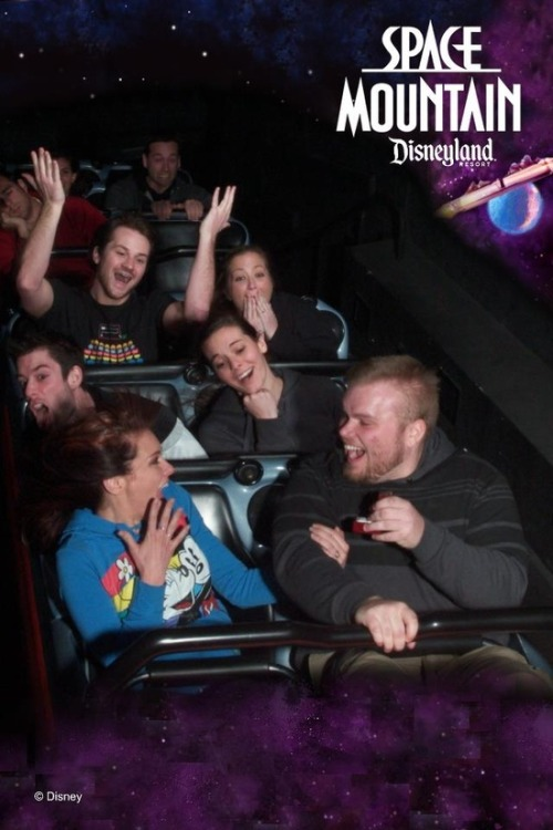 disneylandguru:  Space Mountain Proposal!