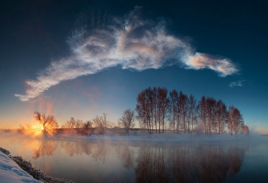 tic-tag:  Miass River Sunrise  Image Credit & Copyright: Marat Ahmetvaleev