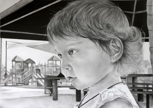 Today's gleaming Adora portrait was created in pencils by Shelley Ashkowski, an art teacher living in the south of the UK. Here is her blog, her DeviantArt portfolio and her twitter. It was based on this photograph. Thank you so much, Shelley! - - - - - - - - - - - - - - - - Click on the 'Adora Art' tag to see the complete progress of this project since the first portraits of Adora were made, a total of over 580 original artworks