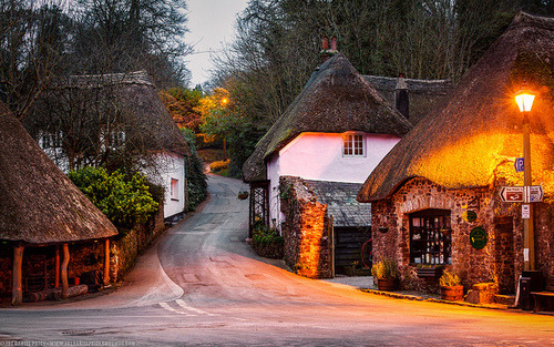 Ancient Village, Devon, England photo via wonderful