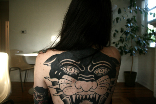 alicecarrier:  my back, in progress, by justin dion