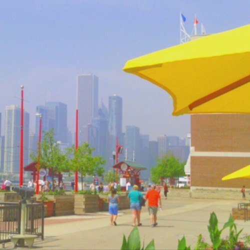 Hazy Day at Navy Pier