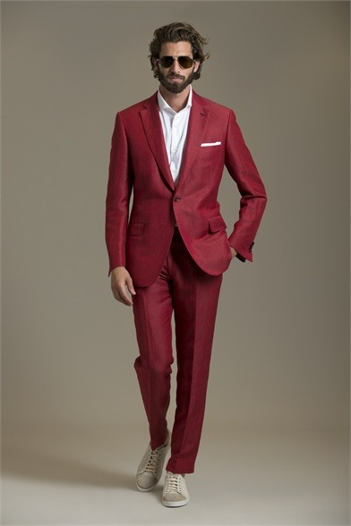 irresistiblecatch:  mensfashionworld:  Brioni S/S 2013  Red.   Dapper