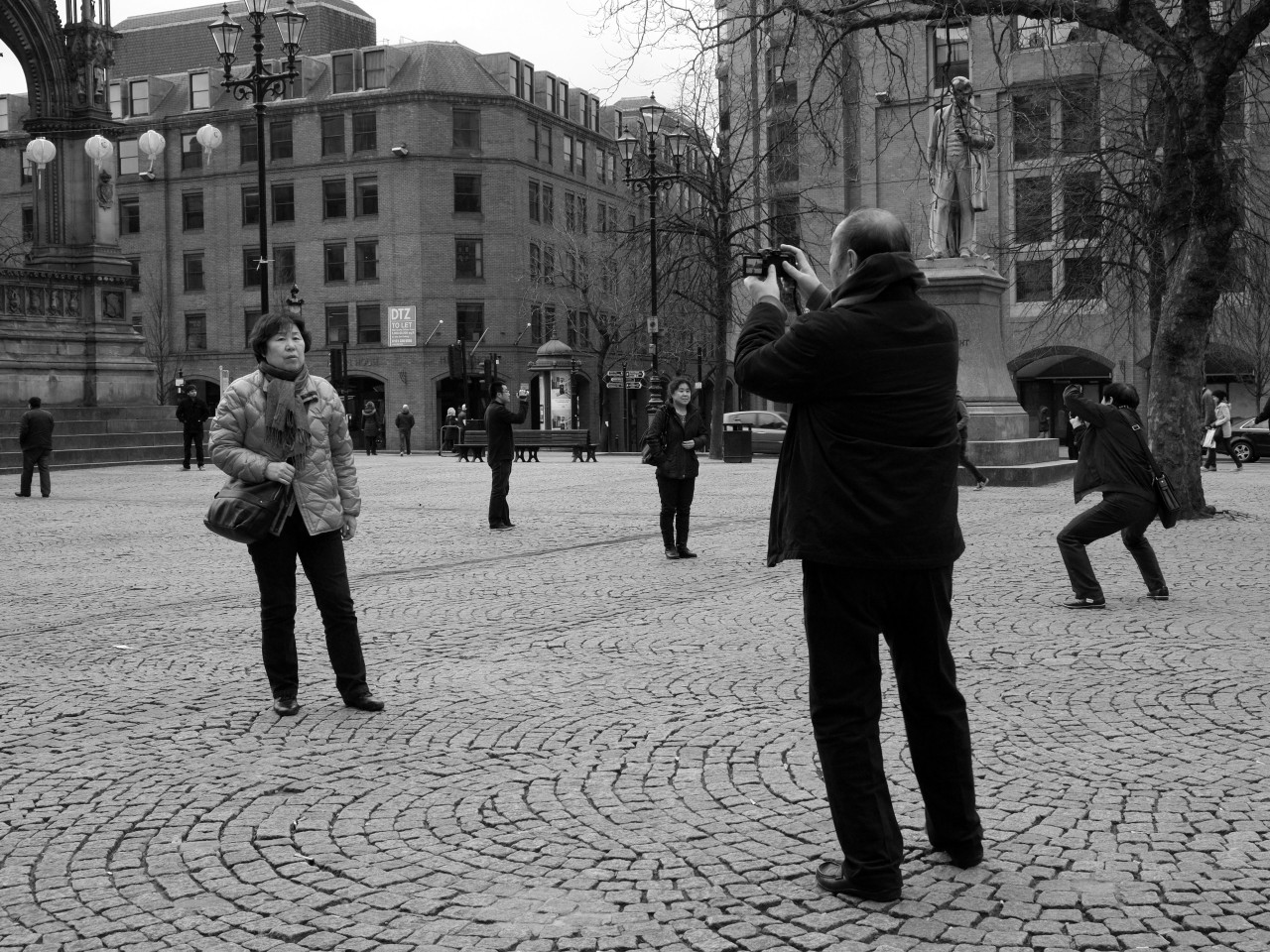 scavengedluxury:  Shooting postures. Manchester, February 2013.