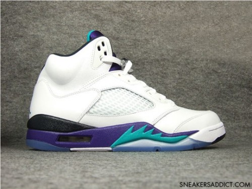 "AIR JORDAN V ""Grape"" Retro 2013"