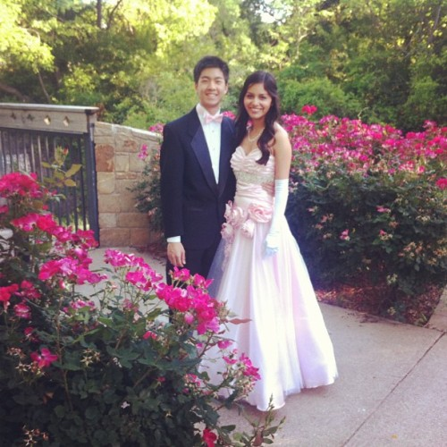 solongtheblackparade:  So we're perfect together…💑 #prom2013