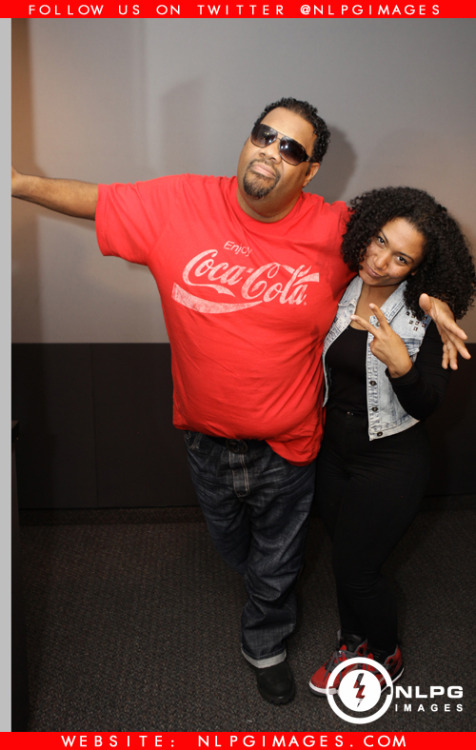 Fatman Scoop stop by WEDR 99Jamz to chop it up with Radio Personality Felisha Monet