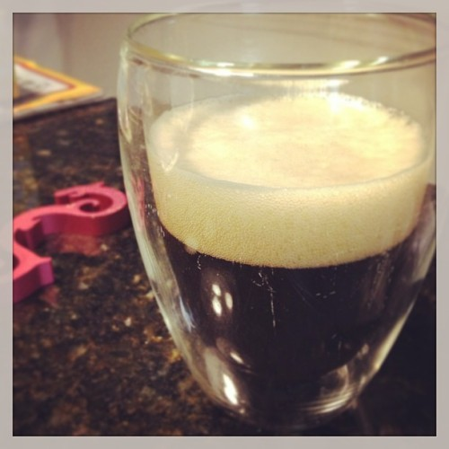 Mark's first batch. #homebrew #beer