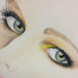 #eyes #look #color #draw