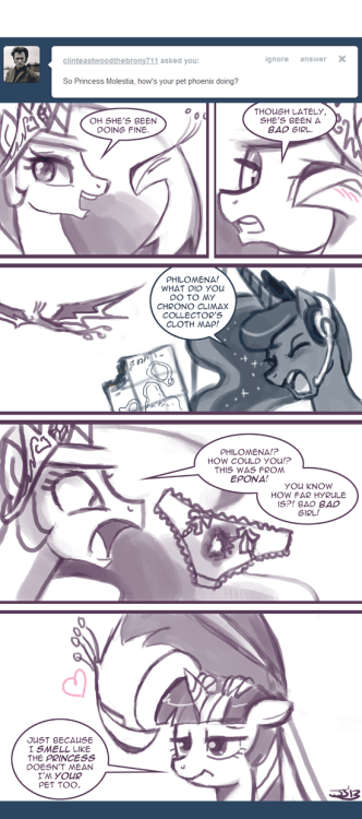 Ask Princess Molestia #279