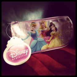 New case for my #makeup brushes <3 #princes #Disney #Cinderella #Bella #Aurora
