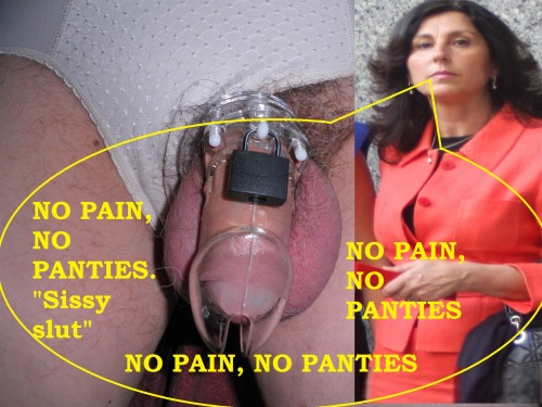 No pain, no panties - do you agree?