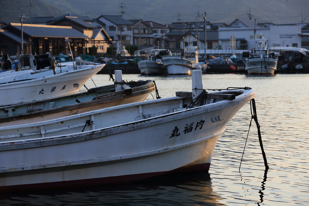 Takahama Fishing Harbour (by Teruhide Tomori) Japan