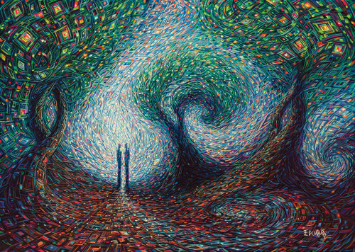 mangoachaar:  Two Souls by *eddiecalz