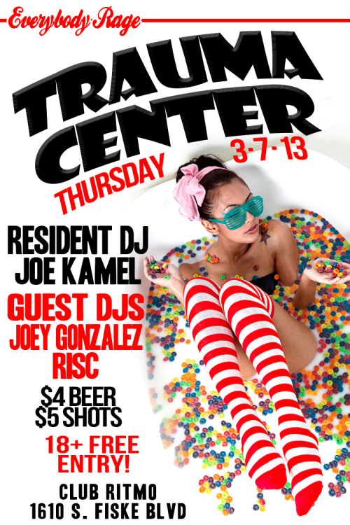 Come out and rage with us this thursday!! It's national cereal day ;) https://www.facebook.com/events/128277387351922/