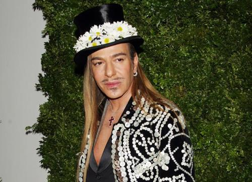 just as fast as it was here, it was gone. John Galliano's masterclass to be held at Parson's (previously mentioned HERE) has been canceled. Parsons spokeswoman Deborah Kirschner told The New York Times it was canceled because an agreement on the structure of the class could not be reached - but there was also a petition circling around to cancel the class, so who knows.