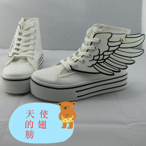 lovelyribbonb:  Wing Sneakers - $32.00