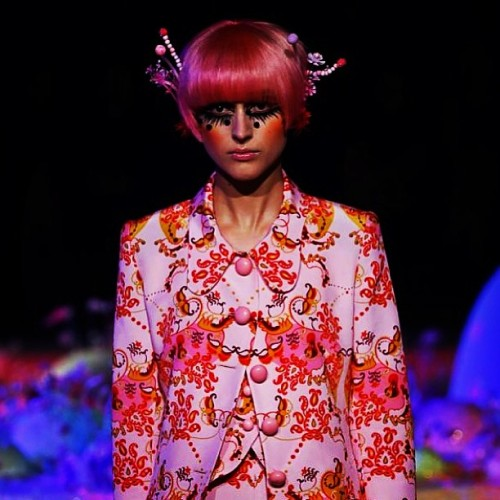 The whimsical duo of Romance Was Born gave us a truly fantastical collection for Spring/Summer 2013/14 at the recent #MBFWA! For more pictures and my guest bloggers review, head to BUBBLEWRAP.HK!  (at cacolyte.blogspot.com)