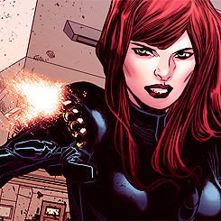 edit Marvel Natasha Romanoff black widow marco checchetto