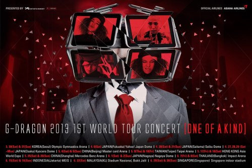 ygfamilyy:  GD - One Of A Kind Concert Promo!