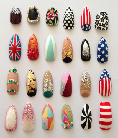 theillustratednail:  A selection…  —- LOVE!