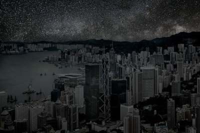 What HK's night sky could theoretically look like…