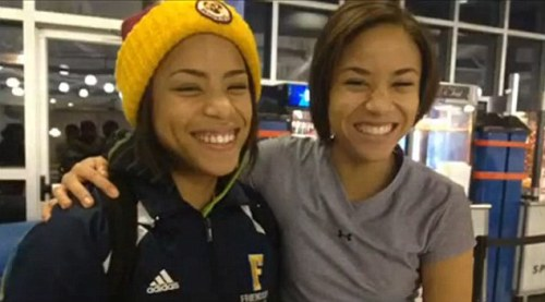 "batmanliveshere:   After 17 years, sisters Robin and Jordan Jeter reunite at a D.C. track meet They were sisters for years.  They just didn't know it  Jordan and Robin Jeter met earlier this year at a high school track meet in Washington, D.C., after someone on the team noticed how much they looked alike. From that point on, they've been best buds.  ""Every weekend we go over each other's house,"" says Jordan. ""I come up here almost every day,"" Robin told WUSA- in an interview. Jordan, a junior at Wilson High School, was adopted shortly after her birth. Robin, a senior at Friendship Collegiate, was shuttled from her biological mother, to foster care, to a legal guardian. For 17 years they lived in the same city, played some of the same sports, but never met. ""At first I didn't know I had any siblings,"" said Robin. ""As time went on, I only knew I had one sibling, I didn't know I had anymore."" At the track meet in January, ""my team was like, she looks just like you,"" said Jordan. The two talked briefly at the meet and once Jordan found out Robin's last name was Jeter she started crying. ""I had already known about my adoption and I knew my last name was Jeter,"" said Jordan.The girls subsequently spent time chatting on the phone.""I asked her, what's your mother's name on your birth certificate, what's her birthday, what does your birth certificate say at the bottom,"" says Robin. Jordan laughed. ""I was like, what is this an interrogation?""she said. ""I was so anxious to know more about her,"" says Jordan. ""Where did she go to school, how old she was, what is she like."" It turns out that they had much in common: same shoe size, same double jointed thumbs, they even sound alike. ""People can't even tell us apart on the phone,"" says Robin. ""We're always just playing around with people on the phone."" While the interaction is now mostly on the golly-gee stuff, more serious issues lie ahead.  ""I think we should try to find more of our siblings,"" says Jordan. Thus far, four of the siblings have been found and as they continue the search, Robin and Jordan can now do it together. ""It's been so long I just feel like I'll never be apart from her,"" says Jordan.  Read more: http://www.nydailynews.com/news/national/17-years-sisters-unite-article-1.1341839#ixzz2T7JTtBvo  This is wonderful."