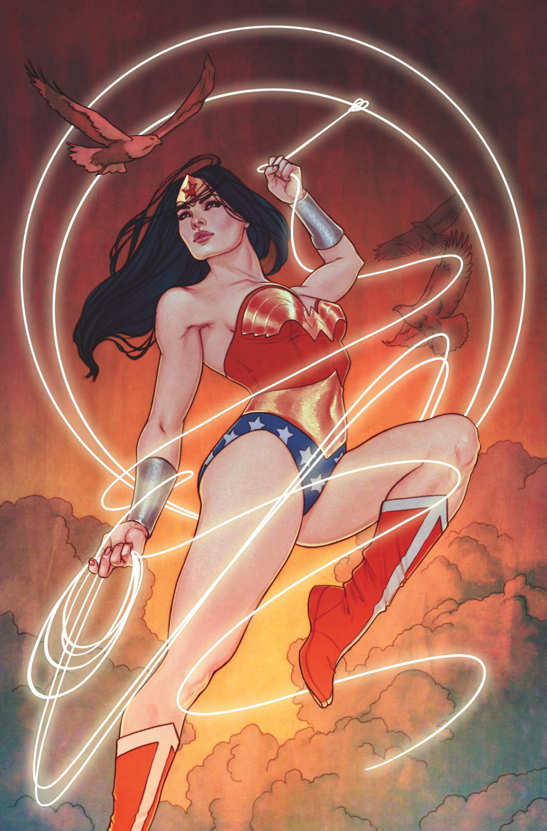 Sensation Comics Featuring Wonder Woman #15 by Jenny Frison