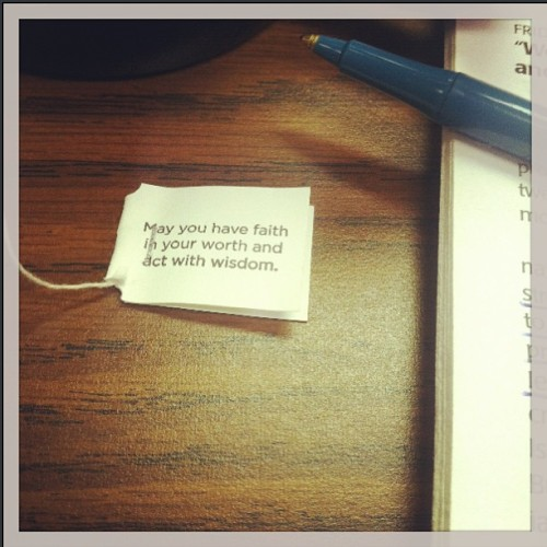 #FaithinAction :: #YogiTea