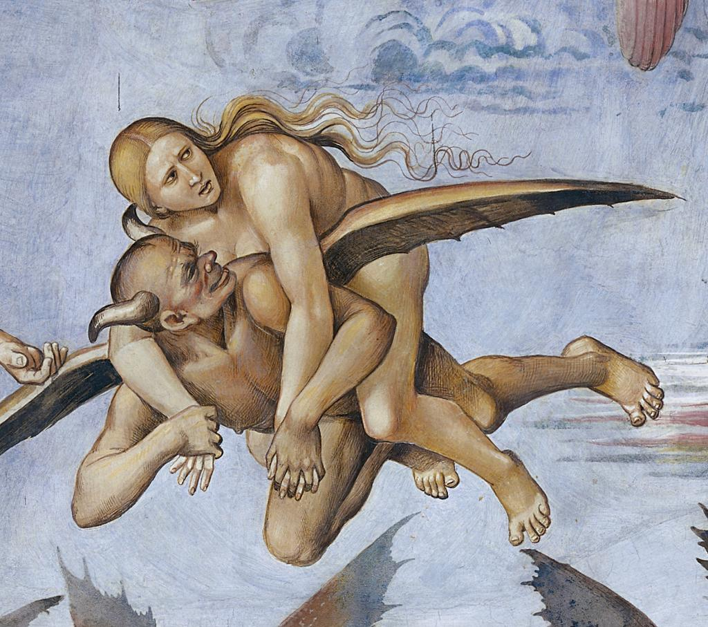 Detail: Punishment of the Damned Luca Signorelli