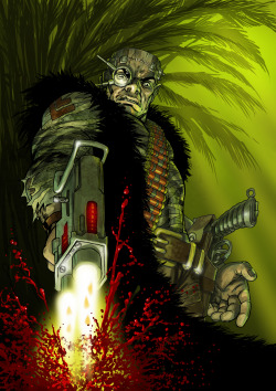 Kano from bad Company. Entry to the 2000AD boards monthly art comp.