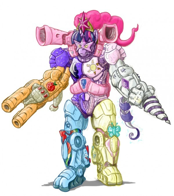 Power Rangers x My Little Pony Mashup by Sean Mirrsen