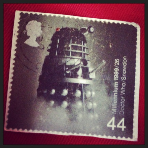 Old Dalek stamp I've had for years.