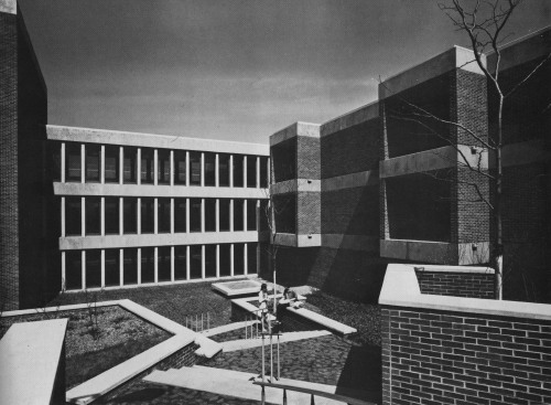 Faculty Office and Classroom Building, Lemoyne College, Syracuse, New York, 1960s