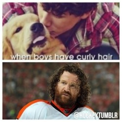 😍😍😍💋 #hartnell #scotthartnell #nhl #flyers #curlyhair