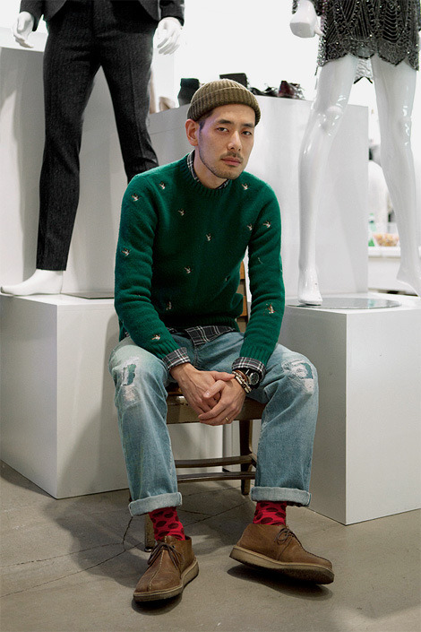 Hiroshi Awai, creative director at Creep
